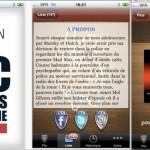 Appli iPhone pour le livre Flic c est pas du cinoche
