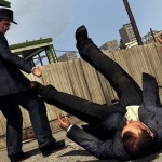 Une image de bagarre dans le jeu L.A. Noire
