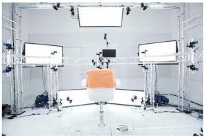 Le studio de MotionScan
