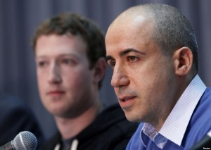 Mark Zuckerberg et Yuri Milner
