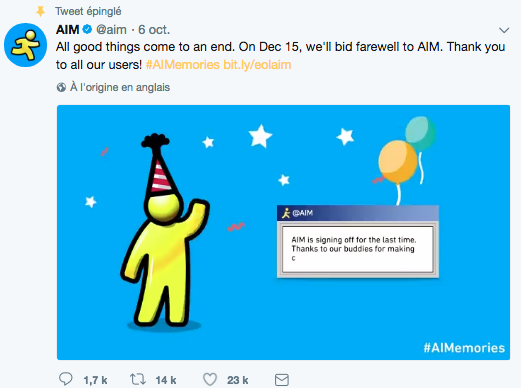 AIM-Twitter