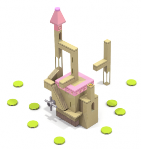 Monument-Valley-Lego