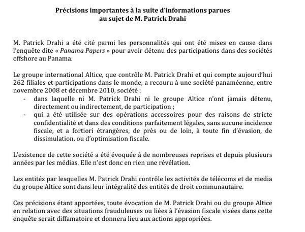 cp-altice-drahi-sfr-communique-panamapapers