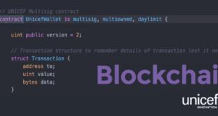 Unicef-blockchain