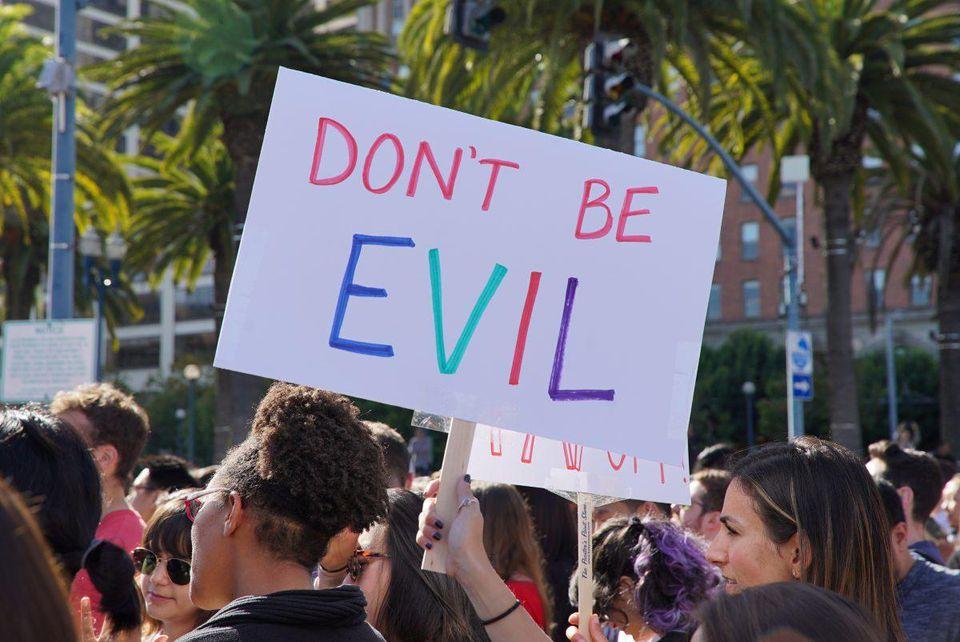 Google-protest