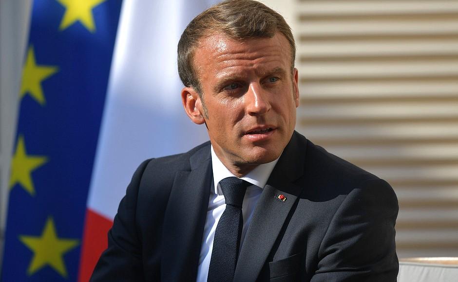 Macron-Gafa-G7