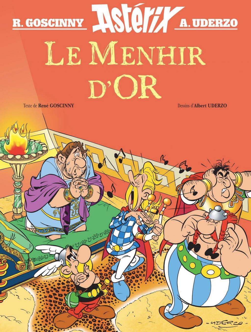 Asterix-Menhir-Or-Albert-Rene