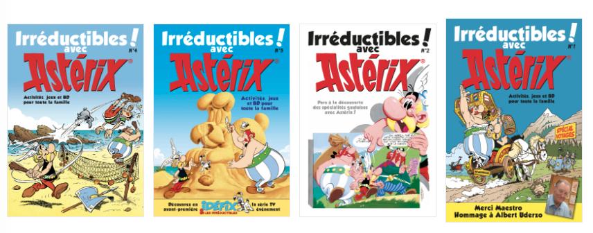 Asterix-couvertures
